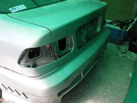подготовка автомобиля к покраске фото
